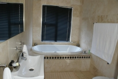 Bathroom bath area